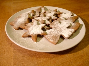 Christmas Cinnamon Cookies