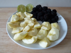 Blackberries Apples and lime Smoothie_1