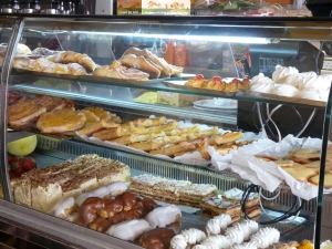 Pastries in Lisbon